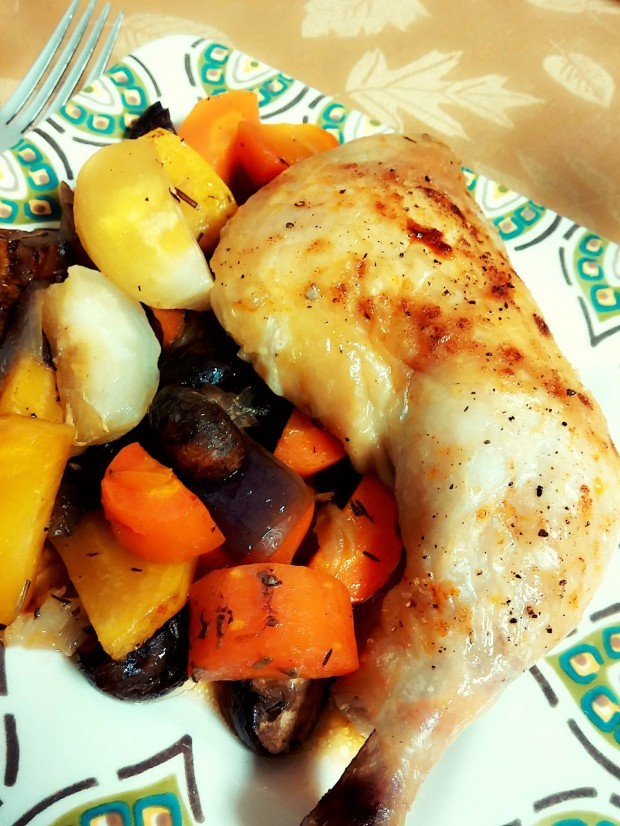 Roasted Chicken and Veg