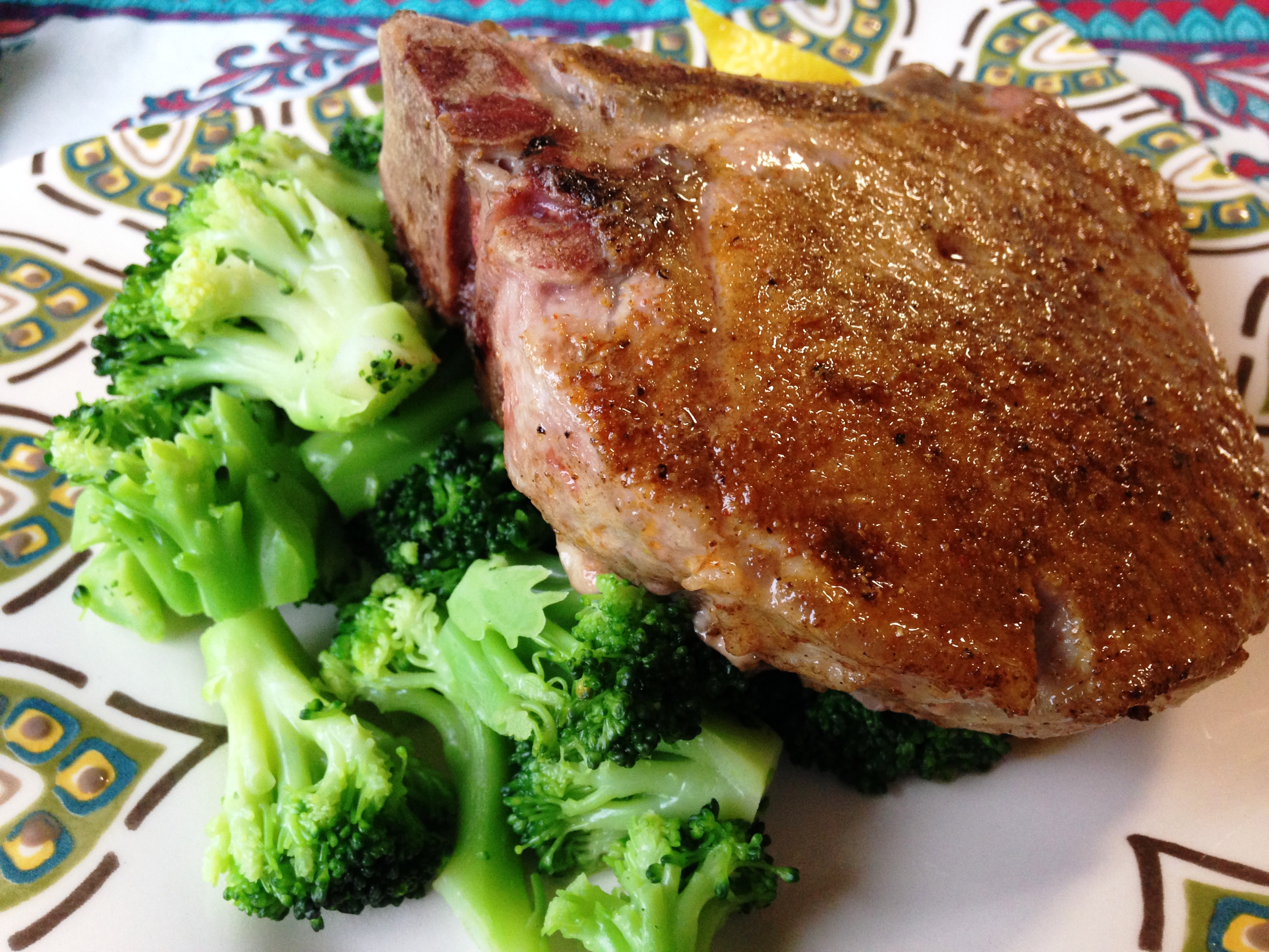 Pan Roasted Spiced Pork Chops (Whole30 Compliant) – The Primal ...