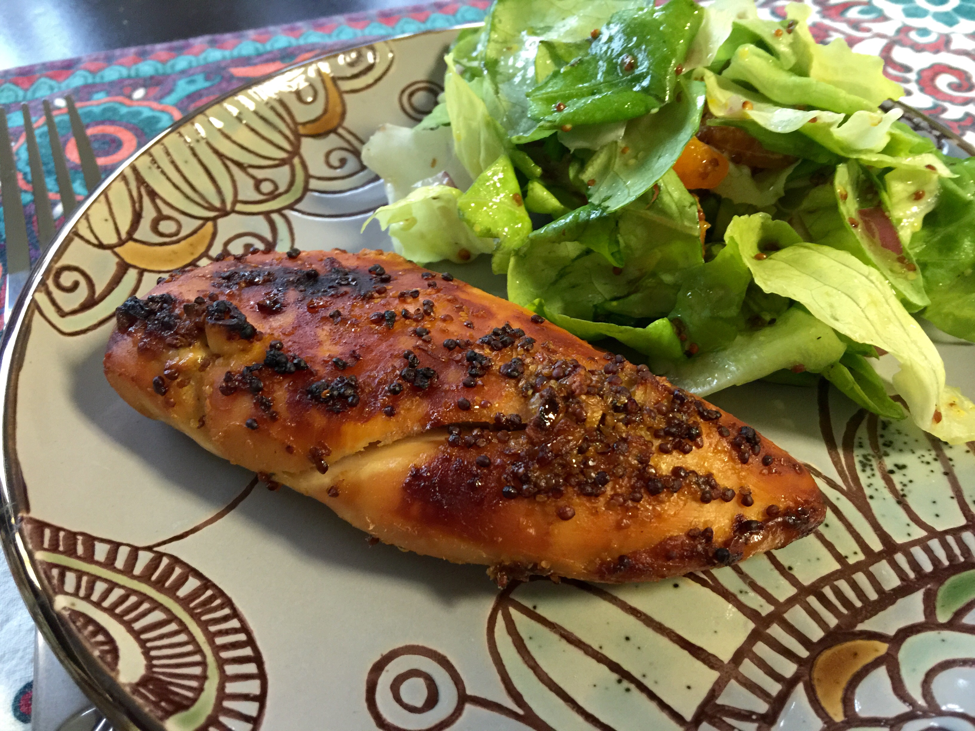 Maple Mustard Chicken (Paleo) | PCOS and Paleo