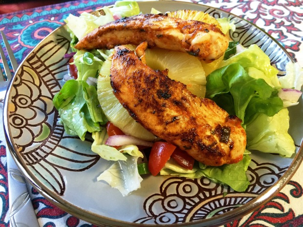Sriracha Lime Chicken Salad